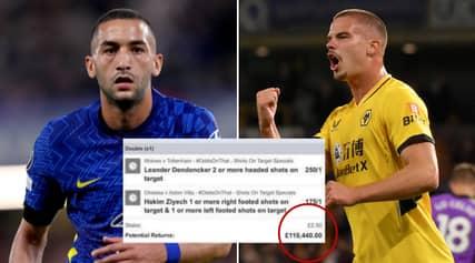 Outrageous Hakim Ziyech And Leander Dendoncker Bet Wins Punter £110k