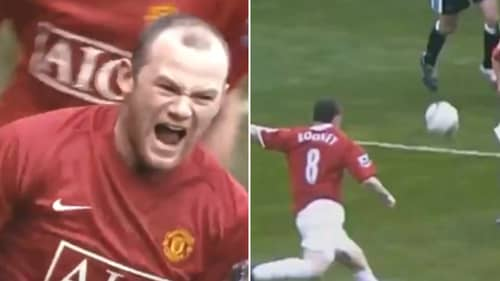 Video Showing 'The Real Wayne Rooney' At Manchester United Sums Him Up