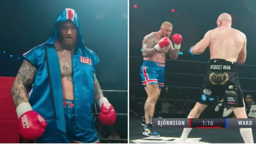Highlights Of Hafthor Bjornsson's Boxing Debut Emerges Online After Exhibition Bout
