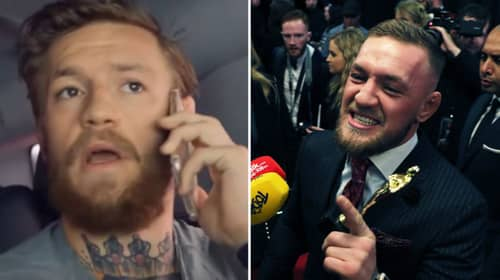 """Conor McGregor Was Stalked By """"Crazy"""" Fan Who Wanted Seven Children With Him...And She Even Named Them"""