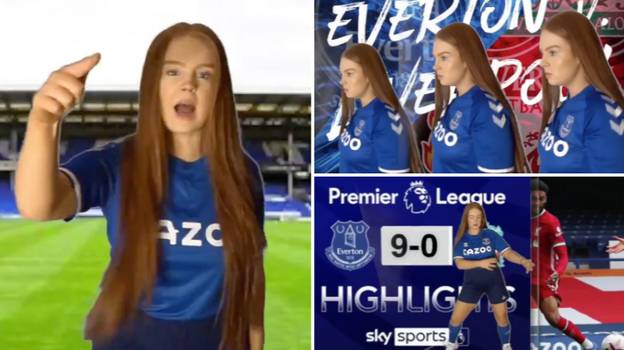 "Everton Fan Creates ""We Will Thrash You"" Song Ahead Of Merseyside Derby And It's Going Viral"