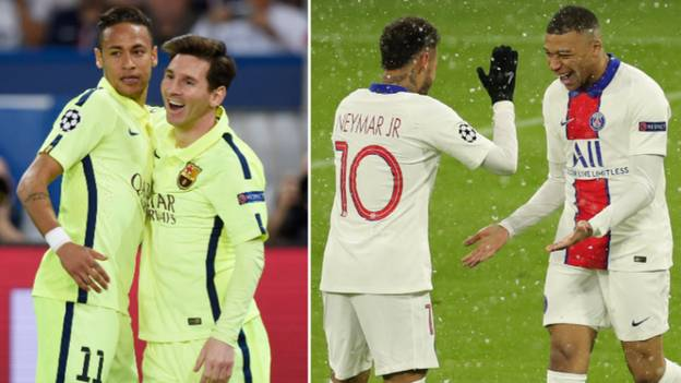 Neymar Gives Perfect Answer When Asked If Kylian Mbappe Is On Lionel Messi's Level
