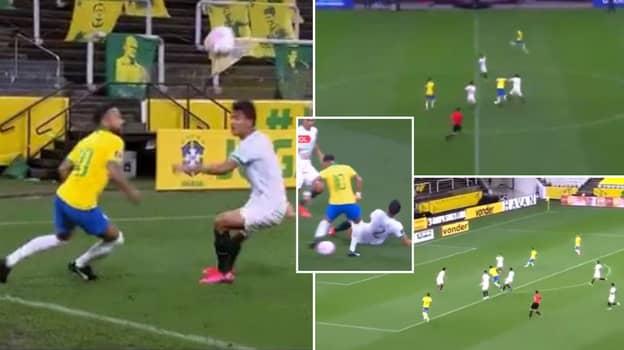 Neymar Was His Usual Ridiculous Self In Brazil 5-0 Thrashing