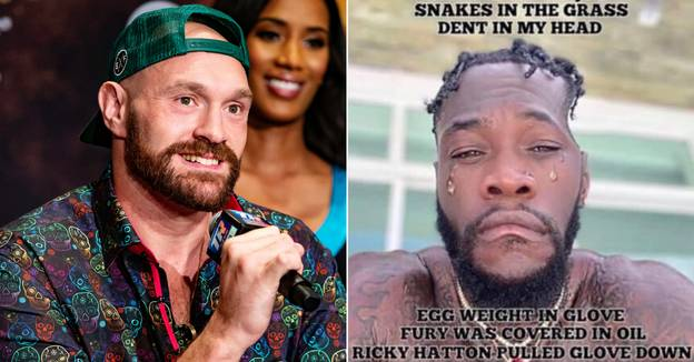 Tyson Fury Absolutely Destroys Deontay Wilder On Twitter With List Of Laughable Excuses