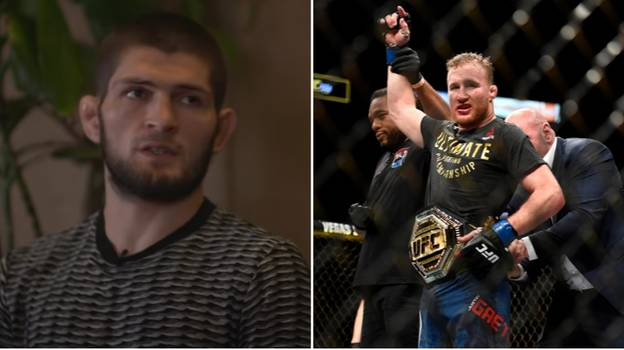 Khabib Nurmagomedov Responds To Justin Gaethje's Fight Approach For UFC 254