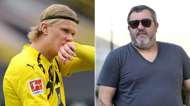 Borussia Dortmund React to Erling Haaland's Transfer Meetings With Barcelona And Real Madrid