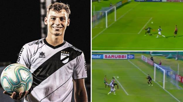 Nicolás Siri Beats Pele's Record To Become Youngest Player In Professional Football History To Score Hat-Trick