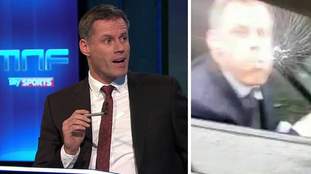 Jamie Carragher Won't Be Appearing On Monday Night Football Tonight