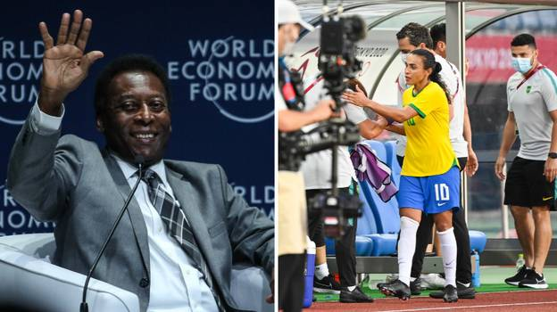 Pele Sends Incredible Message To Marta After She Made Olympic History