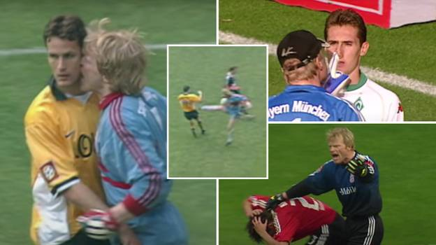 The 'Terrifying' Oliver Kahn Compilation That Shows How Intimidating He Actually Was