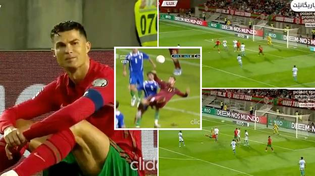 Cristiano Ronaldo Nearly Scored The Best Goal Of His Career Last Night, Denied By Unreal Save