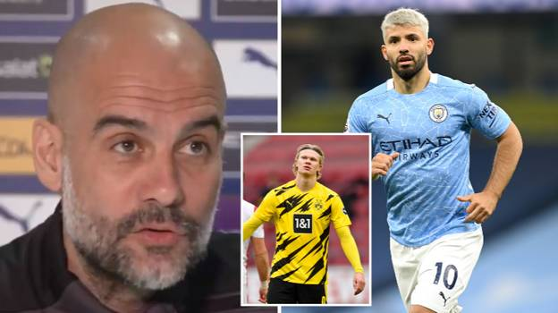 Pep Guardiola Claims Manchester City Might Not Replace Sergio Aguero