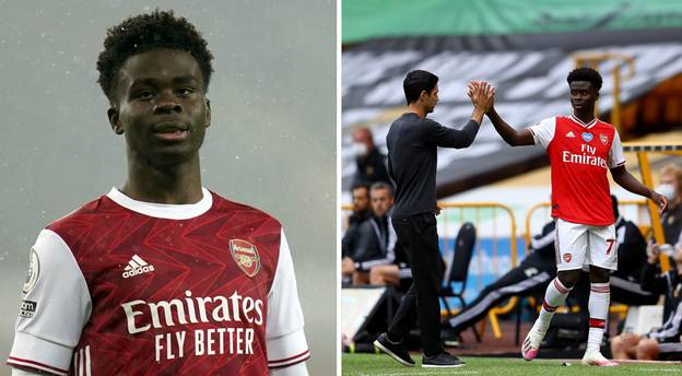Two Champions League Clubs Plotting Swoop For Bukayo Saka, Figure Demanded Is Laughably Small