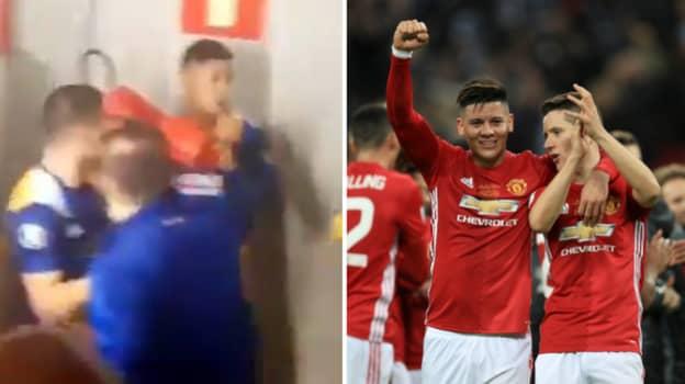 Ander Herrera Responds To Marcos Rojo's Boca Juniors Antics