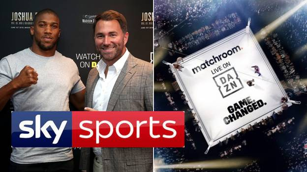 Eddie Hearn's Matchroom Leaves Sky Sports, Strikes 'Game-Changing' Deal With DAZN