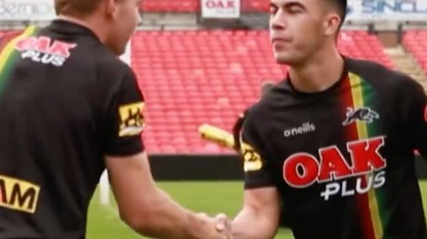 Penrith Panthers Hit Back At 'Arrogance' Claims With Cheeky Handshake Video
