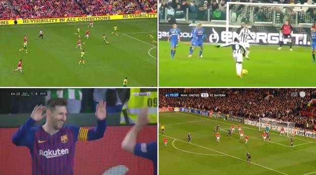 Top Five Most Aesthetically Pleasing Goals With Wilshere, Pogba and Messi