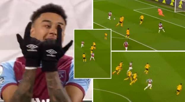 Jesse Lingard Compilation Vs Wolves Shows Him 'Giving Dimitri Payet Vibes At West Ham'