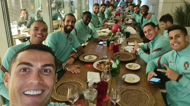 Fans Are Worried About This Picture After News Of Cristiano Ronaldo's Positive Coronavirus Test