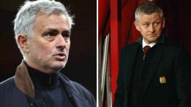 Jose Mourinho Takes Aim At Ole Gunnar Solskjaer Over Manchester United's Lack Of Silverware Under The Norwegian