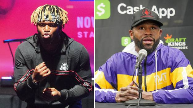 KSI Claims He Would 'F**K Up' Floyd Mayweather If They Fought