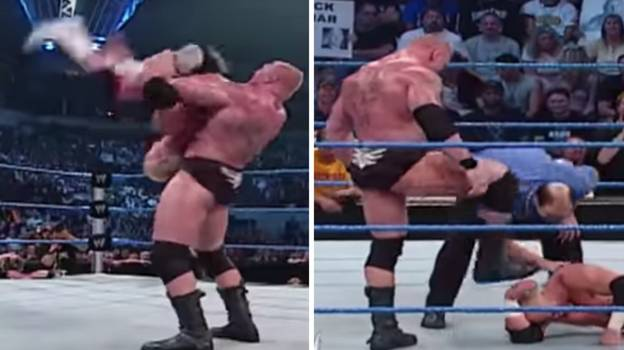 Brock Lesnar Once Broke Opponent Hardcore Holly's Neck After Botched Powerbomb Attempt