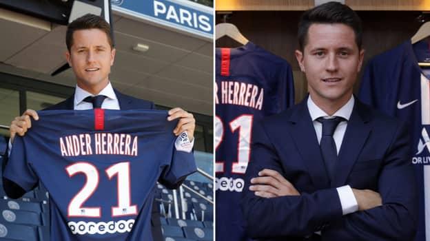 Ander Herrera To Earn £300,000-A-Week At Paris Saint-Germain