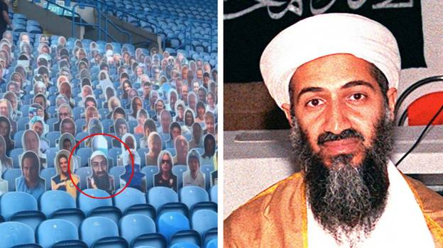 Leeds United Forced To Remove Osama Bin Laden Cut Out After Error