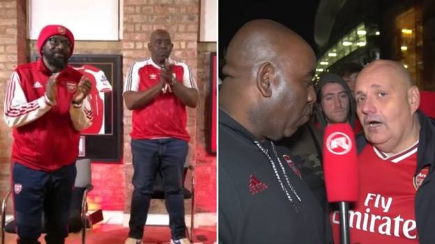 AFTV Pay Moving Tribute To Claude Callegari With Minute's Applause During Arsenal Vs Liverpool