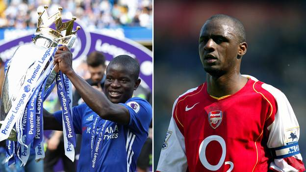 Football Fans Are Debating Who Is Better Out Of N'Golo Kante & Patrick Vieira