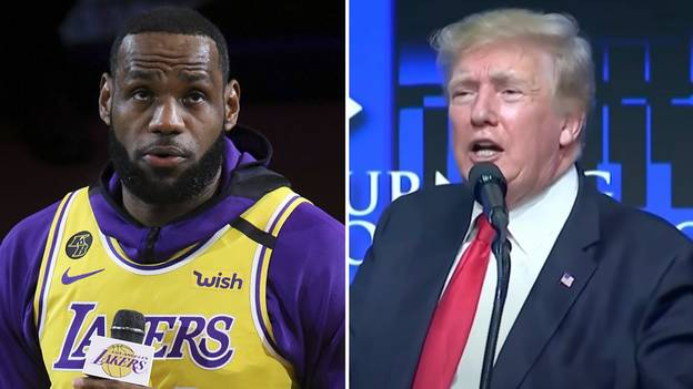 Donald Trump Taunts LeBron James By Using Him In His Extraordinary Rant Against Transgender Athletes