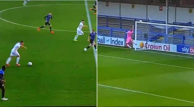 John Rooney Emulates His Brother Wayne With An Own-Half Wonder Goal