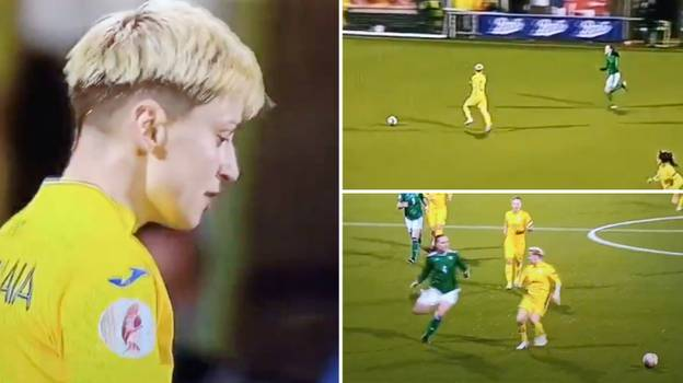 Ukraine vs Northern Ireland Women Contained One Of The Most Cynical Fouls In Football History