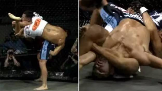 Toby Imada's Triangle Choke On Jorge Masvidal Is Still The Greatest Submission In MMA History