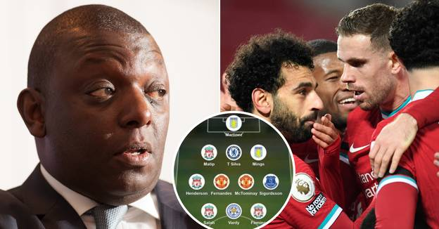 Garth Crooks Mocked For Picking Liverpool Player Who Didn't Play In 'Team Of The Week'