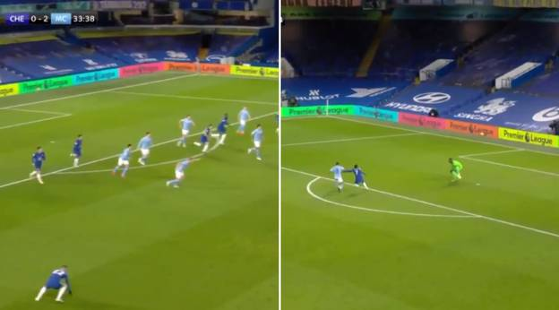 Chelsea Star Hakim Ziyech Slated After 'Failing To Track Back' For Manchester City's Third Goal
