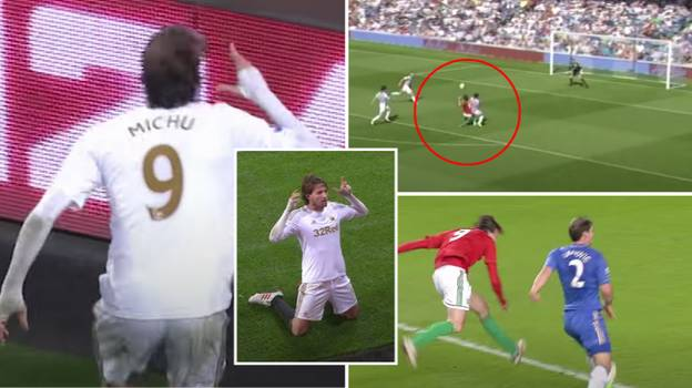 A Compilation Of Michu's Goals For Swansea Prove He's The Premier League's Ultimate One-Season Wonder