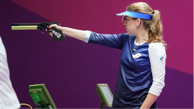 Olympic Gold Medallist Gets 'Mansplained' On How To Hold A Gun Properly