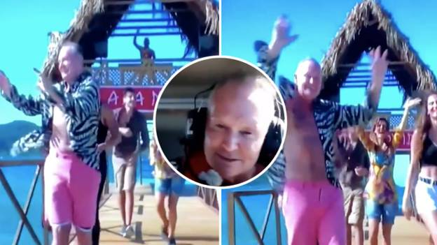 Paul Gascoigne's Entrance On Italy's 'I'm A Celebrity Get Me Out Of Here' Is Outstanding
