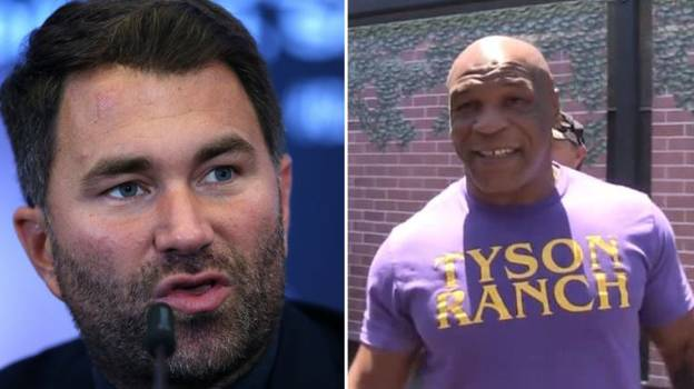 Eddie Hearn Warns Fans About Mike Tyson Vs Roy Jones Jr Exhibition Fight