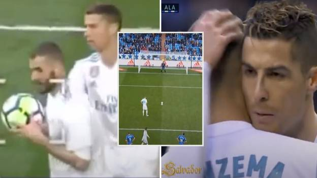 When Cristiano Ronaldo Let Karim Benzema Take A Penalty While On A Hat-Trick