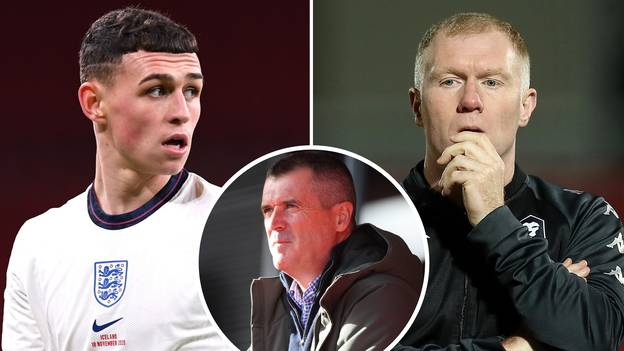 Roy Keane Compares Phil Foden To Paul Scholes After 'Excellent Performance' For England Against Iceland