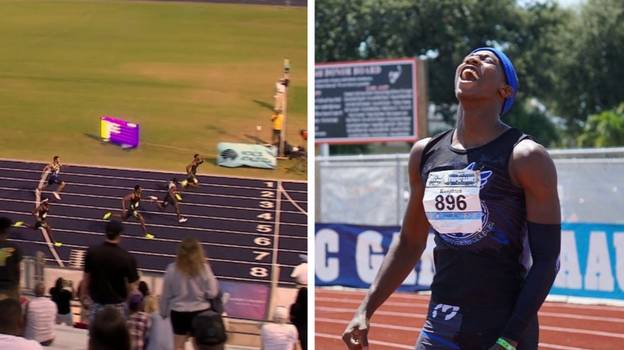 American Teenager Erriyon Knighton Breaks Usain Bolt's 18-Year Record
