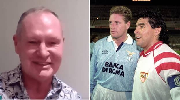 Paul Gascoigne Tells Hilarious Story Of Playing Against Diego Maradona