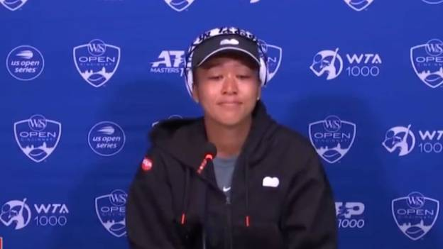 Naomi Osaka Bursts Into Tears After Question From 'Bully' Reporter