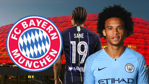 Bayern Munich Hold Talks With Manchester City Over Leroy Sane Transfer