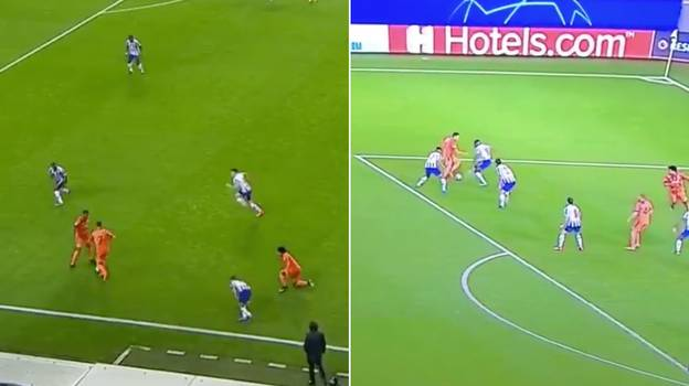 Cristiano Ronaldo Running Into Alex Sandro Summed Up His Night
