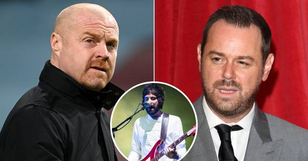Sean Dyche Reveals He Gave Bizarre Team Talk To Danny Dyer In The Back Of A Taxi