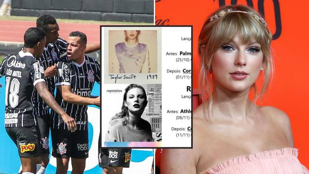 Corinthians Fans Have Discovered The Fascinating 'Taylor Swift Rule' And It Makes Them Unstoppable