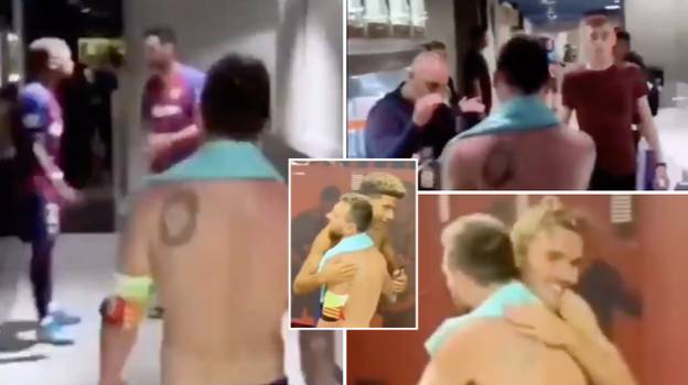 Incredible POV Dressing Room Footage Shows The Amount Of Respect Every Barcelona Player Has For Lionel Messi